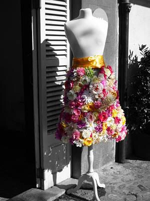 Flower Digital Art - Spring Fashion by Charles Stuart