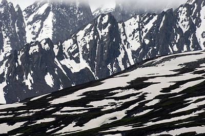 Spring In Alaska Mountains Print by Michael S. Quinton