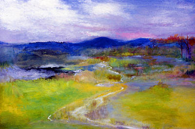 James Gallagher Painting - Spring Landscape by James Gallagher