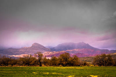 Spring Mountain Ranch In Red Rock Canyon Print by David Patterson
