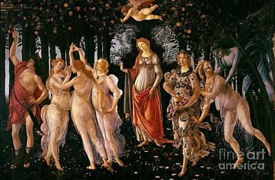 Spring Print by Sandro Botticelli