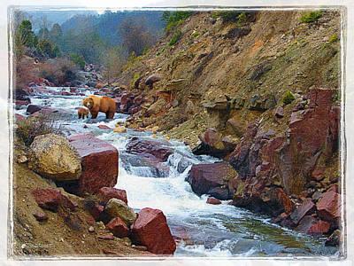 Springtime In The Rockies Original by Tom Schmidt