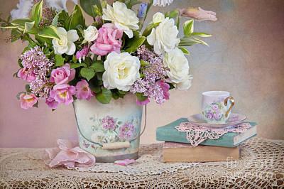 Springtime Pleasure Print by Cheryl Davis