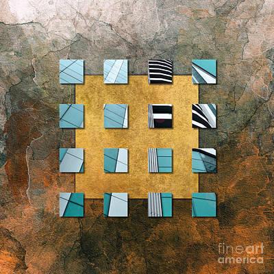 Square Ambience Print by VIAINA Visual Artist