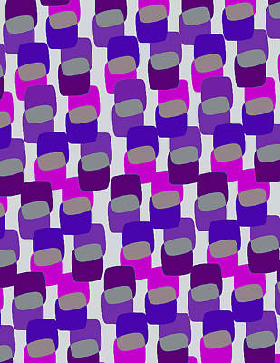 Squares Print by Louisa Knight