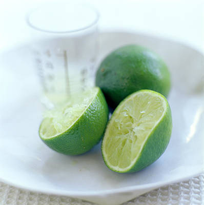 Tangy Photograph - Squeezed Lime by David Munns
