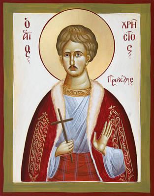 Painting - St Chrestos Of Preveza by Julia Bridget Hayes
