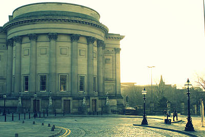 St Georges Hall Liverpool Print by Georgia Fowler