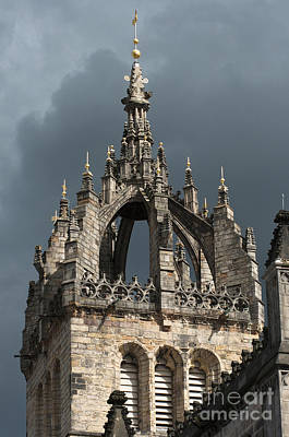 Scotland Photograph - St Giles Cathedral by Andrew  Michael