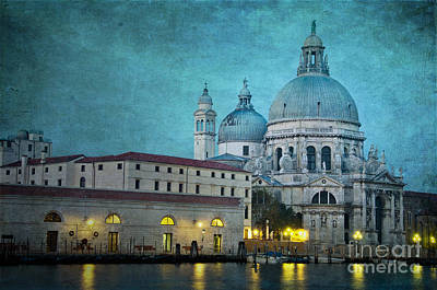 St Maria Della Salute From St Mark's  Print by Marion Galt