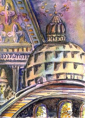 St Marks Of Venice Original by Mindy Newman
