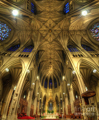 St. Patricks Cathedral Photograph - St Patrick's Cathedral - New York by Yhun Suarez