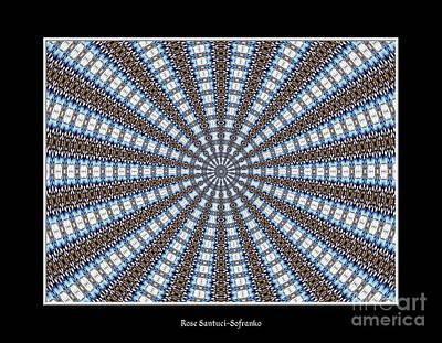 Mandala Photograph - Stained Glass Kaleidoscope 32 by Rose Santuci-Sofranko
