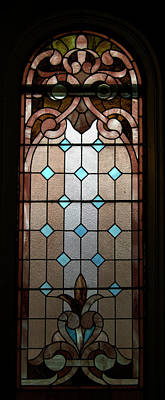 Stained Glass Lc 15 Print by Thomas Woolworth