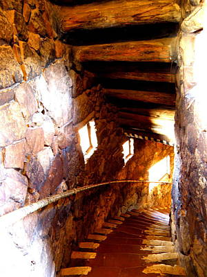 Grand Canyon Photograph - Stairs 1 by Tanya  Searcy