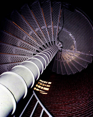 Stairs To The Light Print by Skip Willits