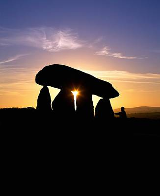 Megalith Photograph - Standing Stones, Wales by Martin Bond