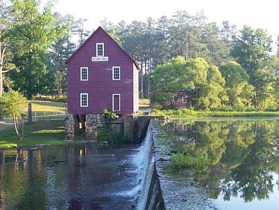 Starr's Mill Georgia Summer Morn Print by Jake Hartz