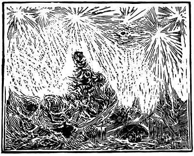 Starry Night Print by Dariusz Gudowicz