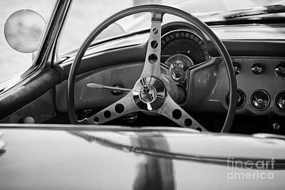 Steering Wheel Ll Print by Hideaki Sakurai
