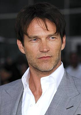 Stephen Moyer At Arrivals For True Print by Everett
