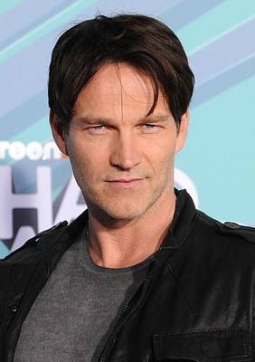 Stephen Moyer In Attendance Print by Everett