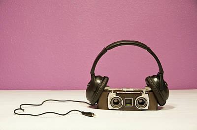 Stereophonic Camera Print by Pedro Díaz Molins