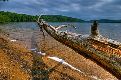 Sterling Photograph - Sterling Lake Hdr by Mike Horvath