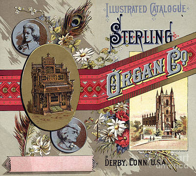 Sterling Photograph - Sterling Organ Company by Granger