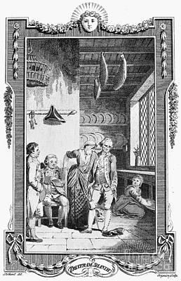 Sterne: Tristram Shandy. Engraving For The 1781 Edition Of Laurence Sternes Novel Print by Granger