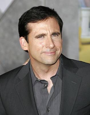 Steve Carell At Arrivals For Dan In Print by Everett