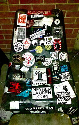 Ganja Mixed Media - Sticker Heaven by The Personal Stash