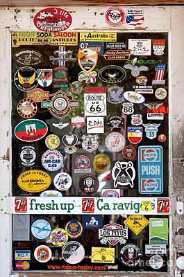 Stickers Print by Hideaki Sakurai
