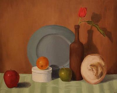 Still Life Painting - Still Life 1 by Lindsey Cockrum