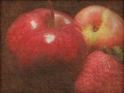 Still Life Fruit Print by Cindy Wright