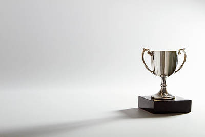 Still Life Of A Trophy Print by Quiet Noise Creative