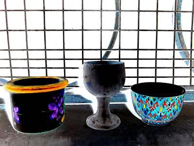 Ceramics Digital Art - Still Life by Randall Weidner