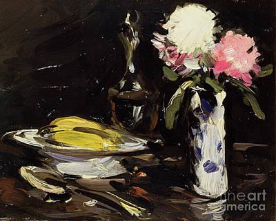 Scottish Colourist Painting - Still Life by Samuel John Peploe