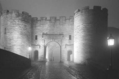 Gothic Photograph - Stirling Scotland - Now That's A Castle by Christine Till