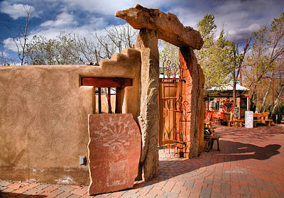 Southwest Gate Photograph - Stone Arch II by Steven Ainsworth