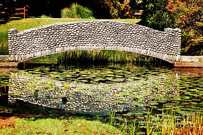 Stanley Park Photograph - Stone Bridge by HD Connelly