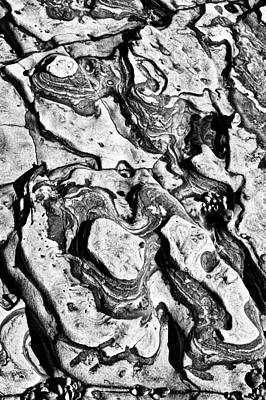 Stone Formation Point Lobos Print by Garry Gay