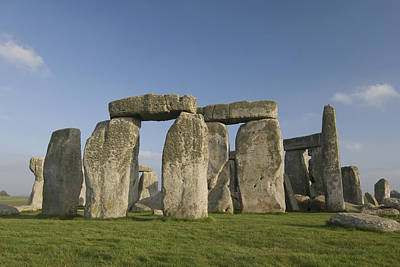 Feild Photograph - Stonehenge II by Gloria & Richard Maschmeyer