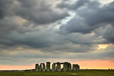 Megalith Photograph - Stonehenge, Wiltshire, England, Uk by Julian Elliott Ethereal Light