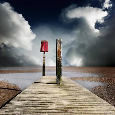 Iandavidsoar Pyrography - Storm by Ian David Soar