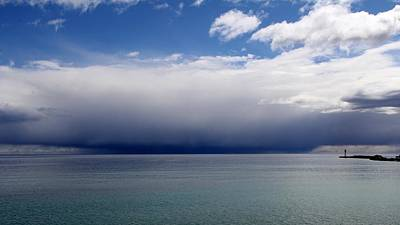 Storm On The Horizon Print by Davandra Cribbie