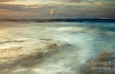 Seascape Photograph - Storm Rise by Mike  Dawson