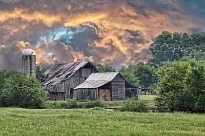 Country Scenes Photograph - Storms Coming II by Jan Amiss Photography