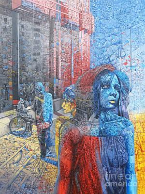Landskape Painting - Street 6 by Bekim Mehovic
