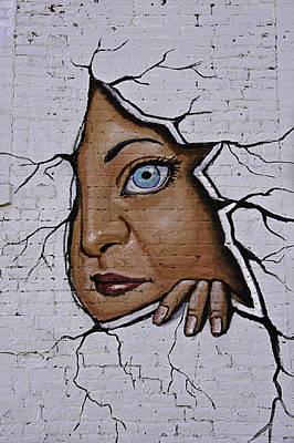 Rustic Digital Art Digital Art - Street Art Mural by Melany Sarafis